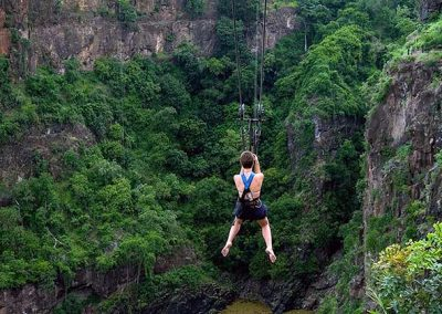 The longest zipline in the world