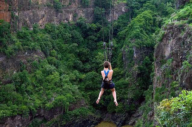 The longest zipline in the world