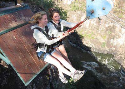 Victoria Falls Activities, Zipline