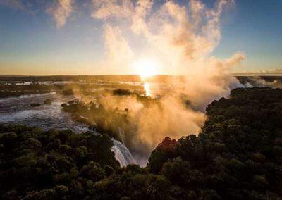 Victoria Falls Spray
