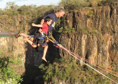 Victoria Falls Tandem Gorge Swing