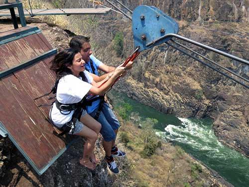 Victoria Falls Tandem Zipline