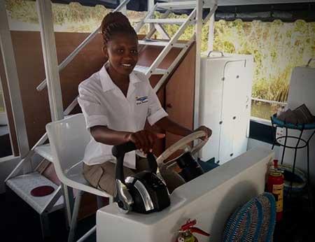 Carol Makuwire: 'I am a pioneer'