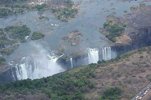 Victoria Falls in November