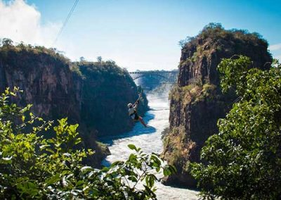 Canopy Tour in Victoria Falls with Wild Horizons