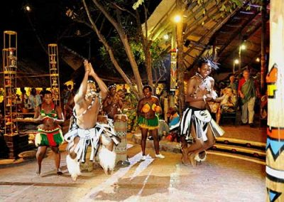Dancers at The Boma