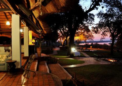 Sunset Views of the Zambezi from Imbabala Lodge