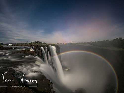 Lunar Rainbow image by Tom Varley