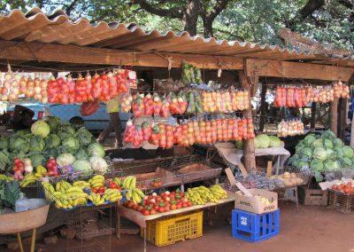 Local market on the Wild Horizons Township Tour