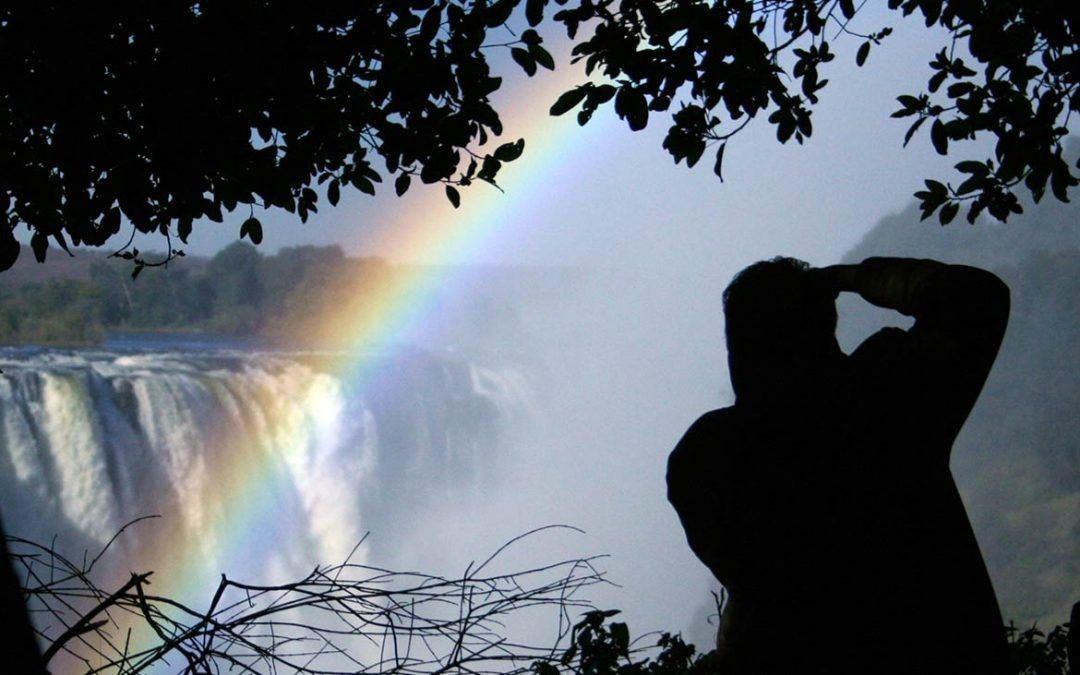 Photographing the Victoria Falls