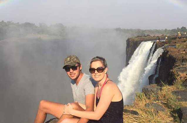 Get up close to The Victoria Falls