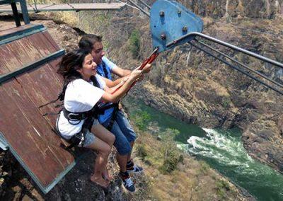 Activities in Victoria Falls Tandem Zipline