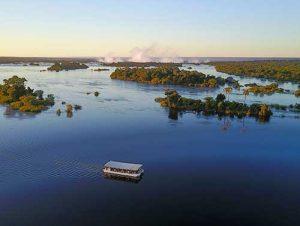 Victoria Falls river cruise on the Zambezi