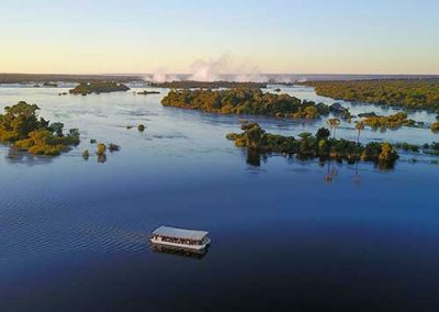 Victoria Falls river cruise down the Zambezi