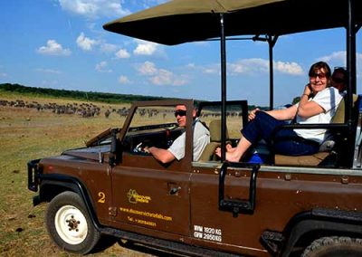 Game Drive in the Zambezi National Park