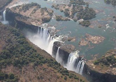 Start of the dry season in Victoria Falls