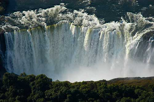 Victoria Falls in December