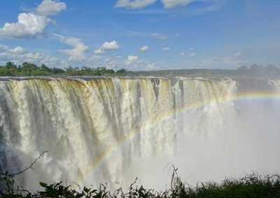 The mighty Vic Falls