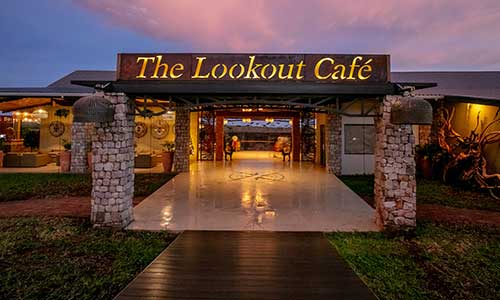 The Lookout Café in Victoria Falls