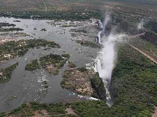 Victoria Falls Flight of Angels