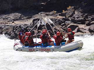 Zambezi White Water Rafting Fun