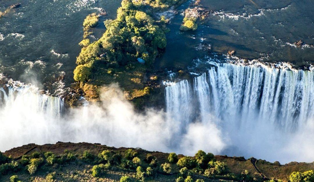 Victoria Falls Aerial Views