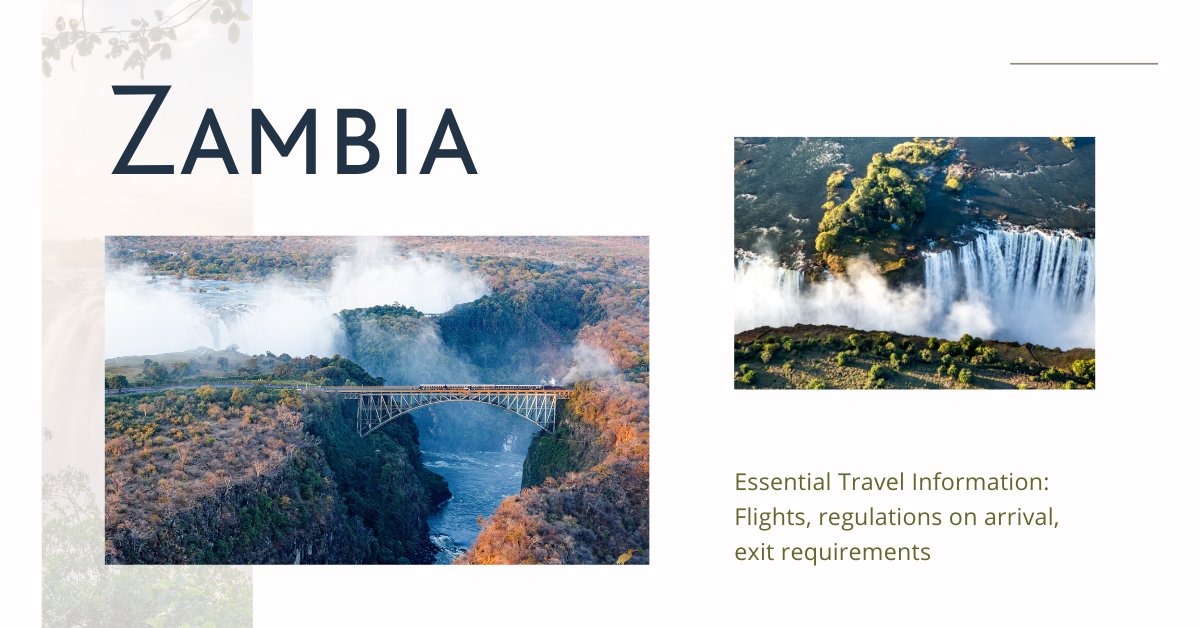 Victoria falls bridge zambia